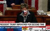 """美眾議院投票通過總統特朗普彈劾案,正式指控其""""煽動叛亂"""""""